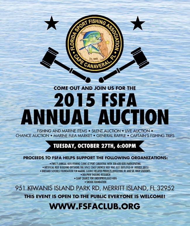 Check out the Florida Sport Fishing Association Auction!
