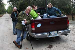Ready to hike Tosohatchee Wildlife Management Area near Christmas, Florida